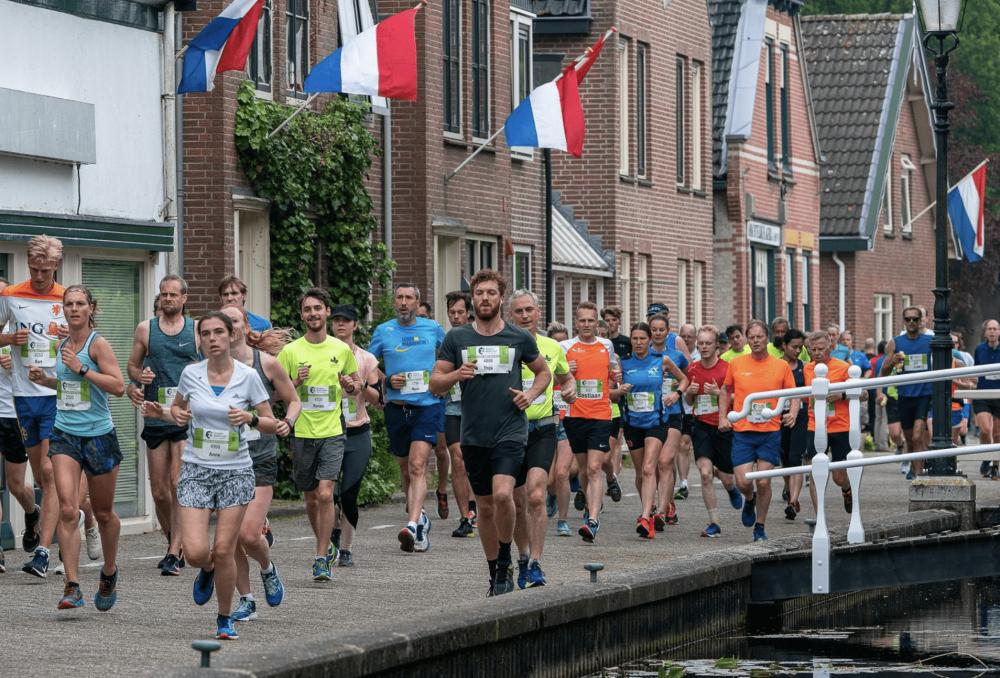 Leiden Marathon Renners
